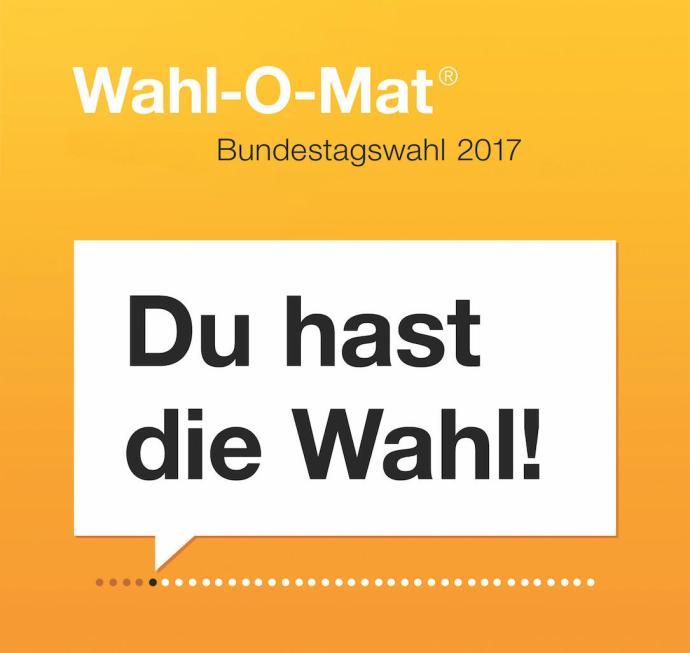 Wahl O Mat 2017 Logo