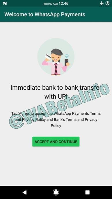 Whatsapp Payments Upi