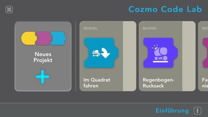 Anki Cozmo Code Lab