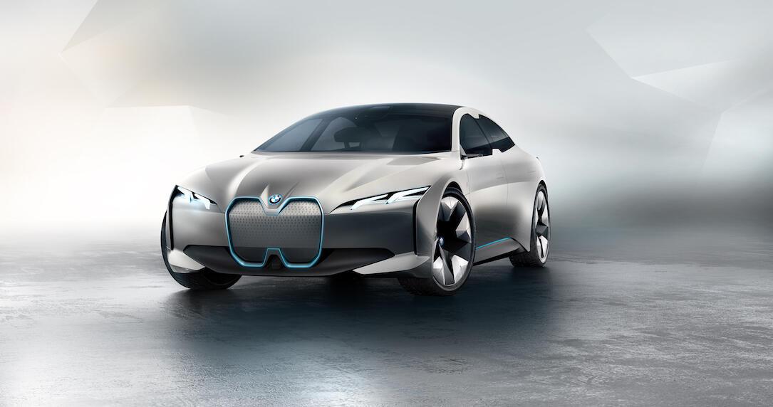 bmw i vision dynamics elektroauto mit 600 km reichweite. Black Bedroom Furniture Sets. Home Design Ideas