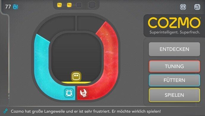 Cozmo App