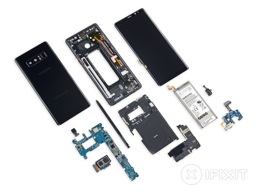 Galaxy Note 8 Ifixit