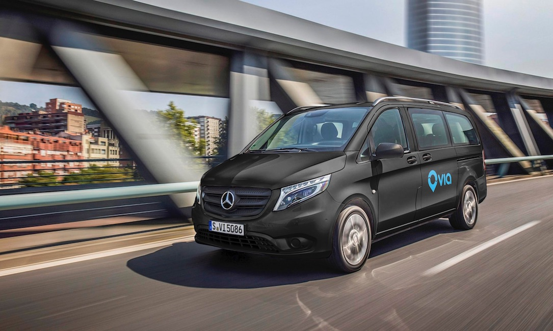 Innovatives On Demand Ride Sharing Angebot Startet In Europa: Mercedes Benz Vans Gründet Joint Venture Mit Us Startup Via