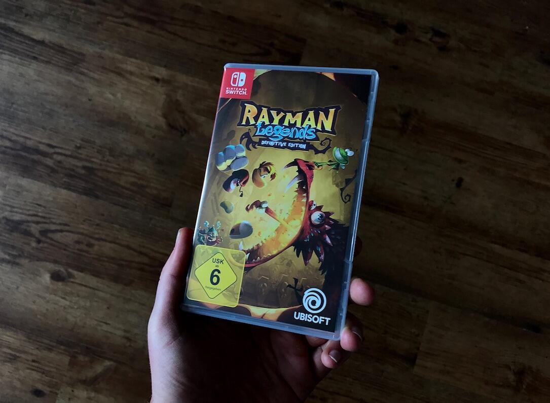 Rayman Legends Defeinitive Edition Header