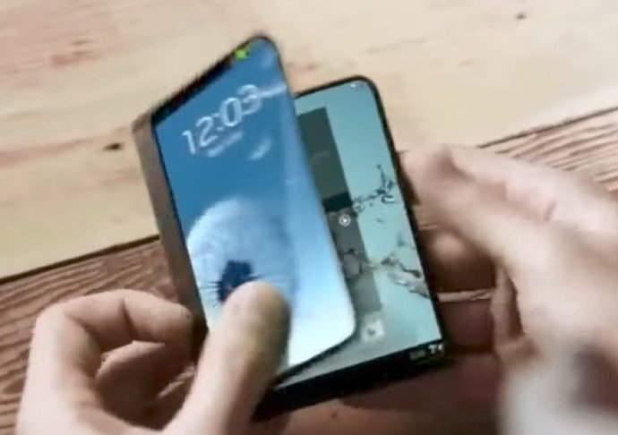 Samsung Display Faltbar Header