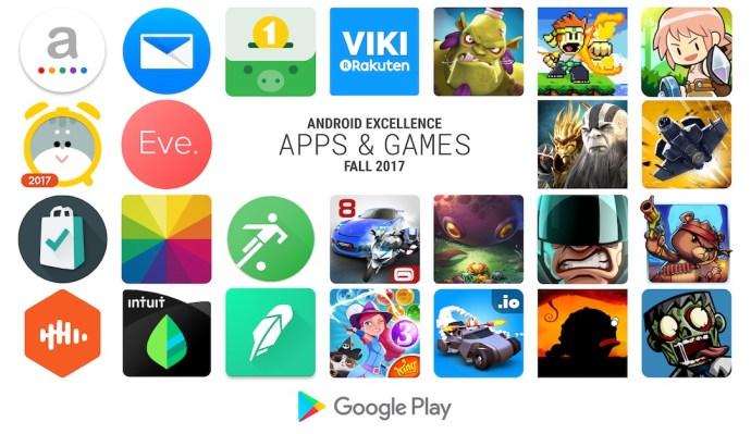 Android Excellence Apps