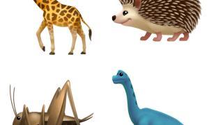 Apple Emoji Update 2017 Animals