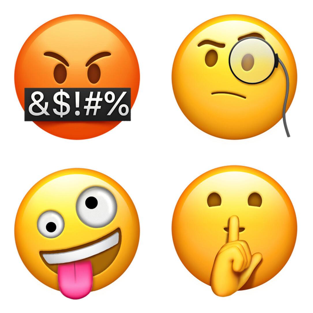 Apple Emoji Update 2017 Faces