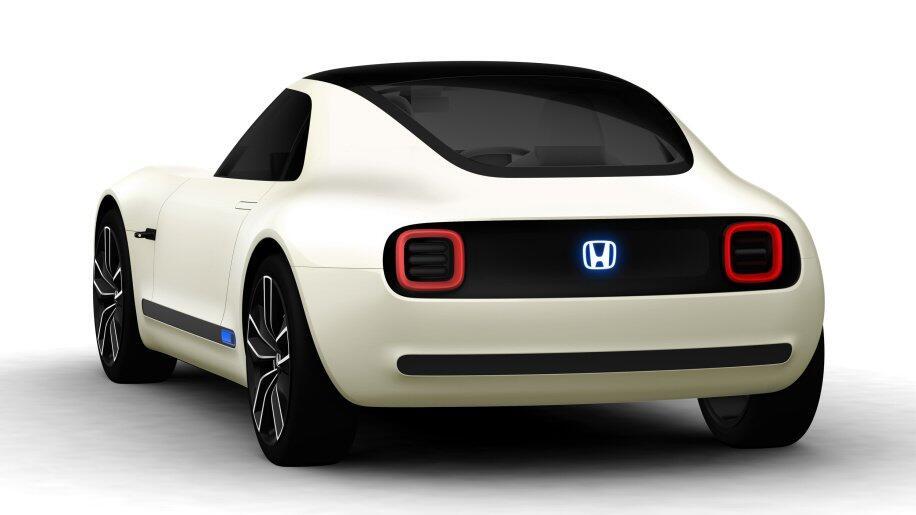 Honda Sport Ev Back