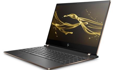 Hp Spectre 13 Laptop Front Left Dark Ash Silver