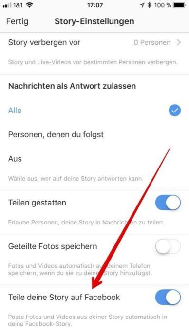 Instagram Facebook Stories