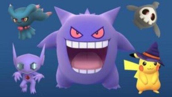 Pokemon Halloween 2017