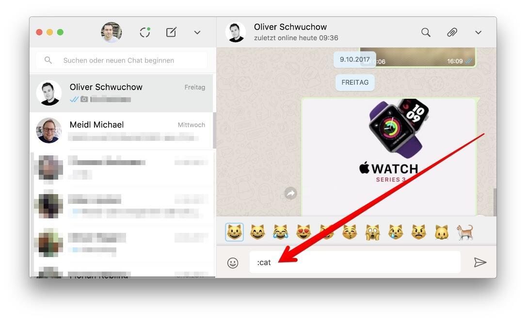 Whatsapp Web Emoji Search