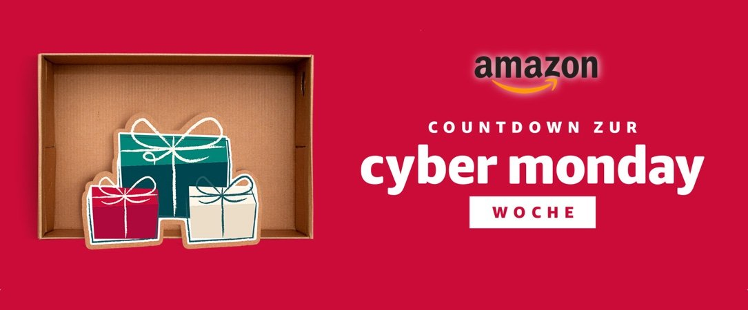 Amazon Countdown Cyber Monday Woche 2017