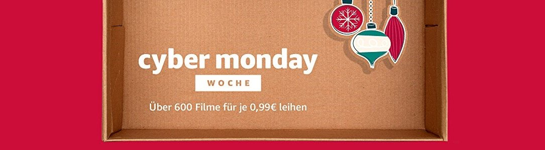 Amazon Cyber Monday Woche Filmeabend