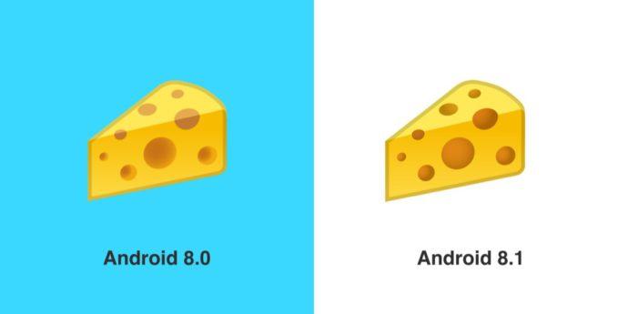 Google Cheese Emoji Before After Emojipedia