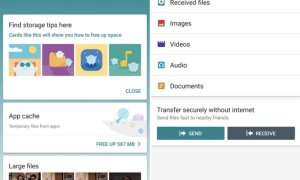Google Files Go Smart File Manager