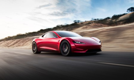 Tesla Roadster Header