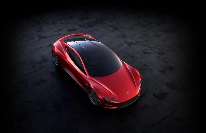 Tesla Roadster Roof