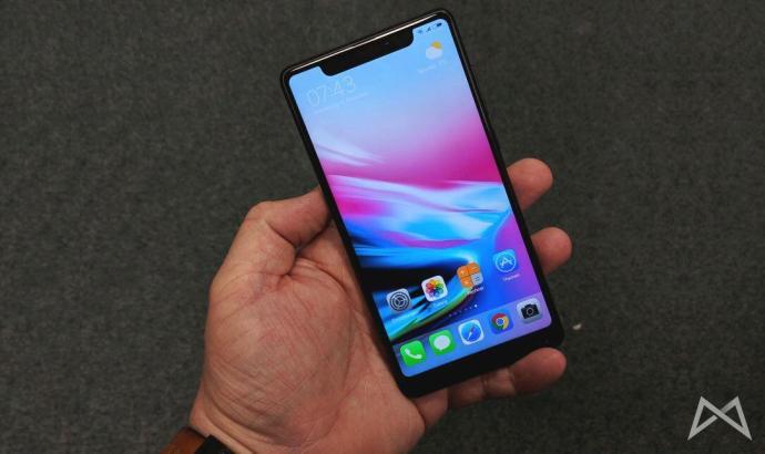Xiaomi Mi Mix 2 Mit Iphone X Nodge