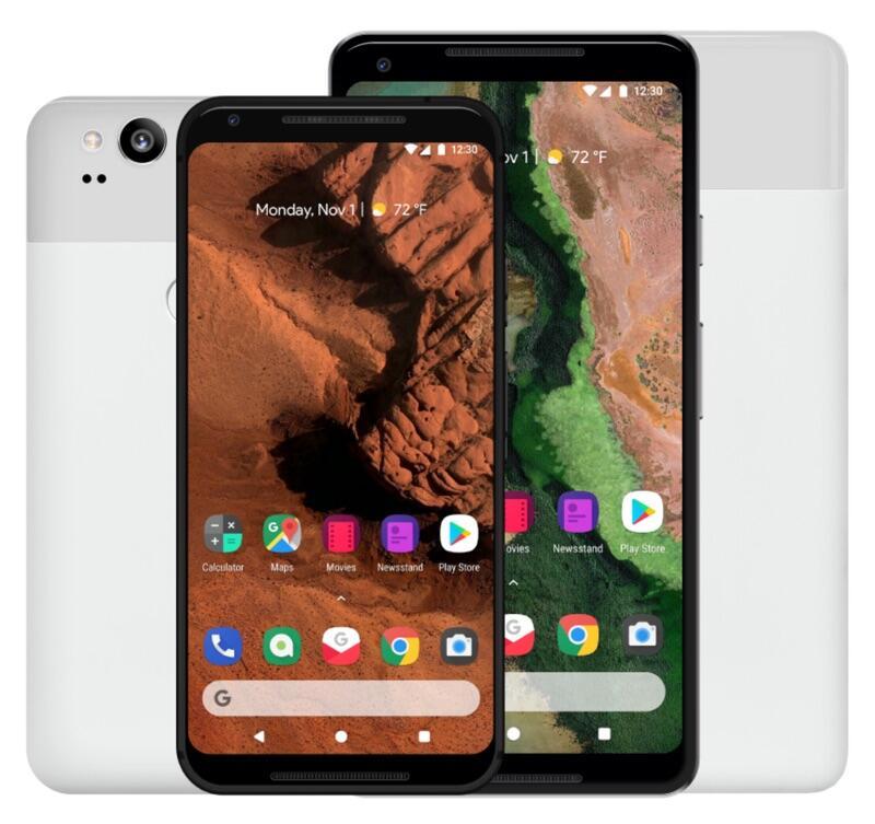 Android Konzept Pixel