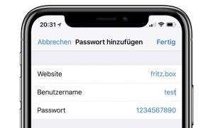 Fritz Box Passwort Neu Ios