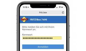 Fritzbox Passwort Safari
