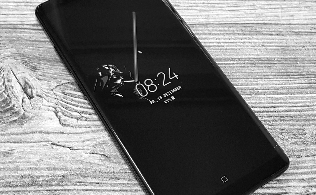 Galaxy Note 8 Darth Vader