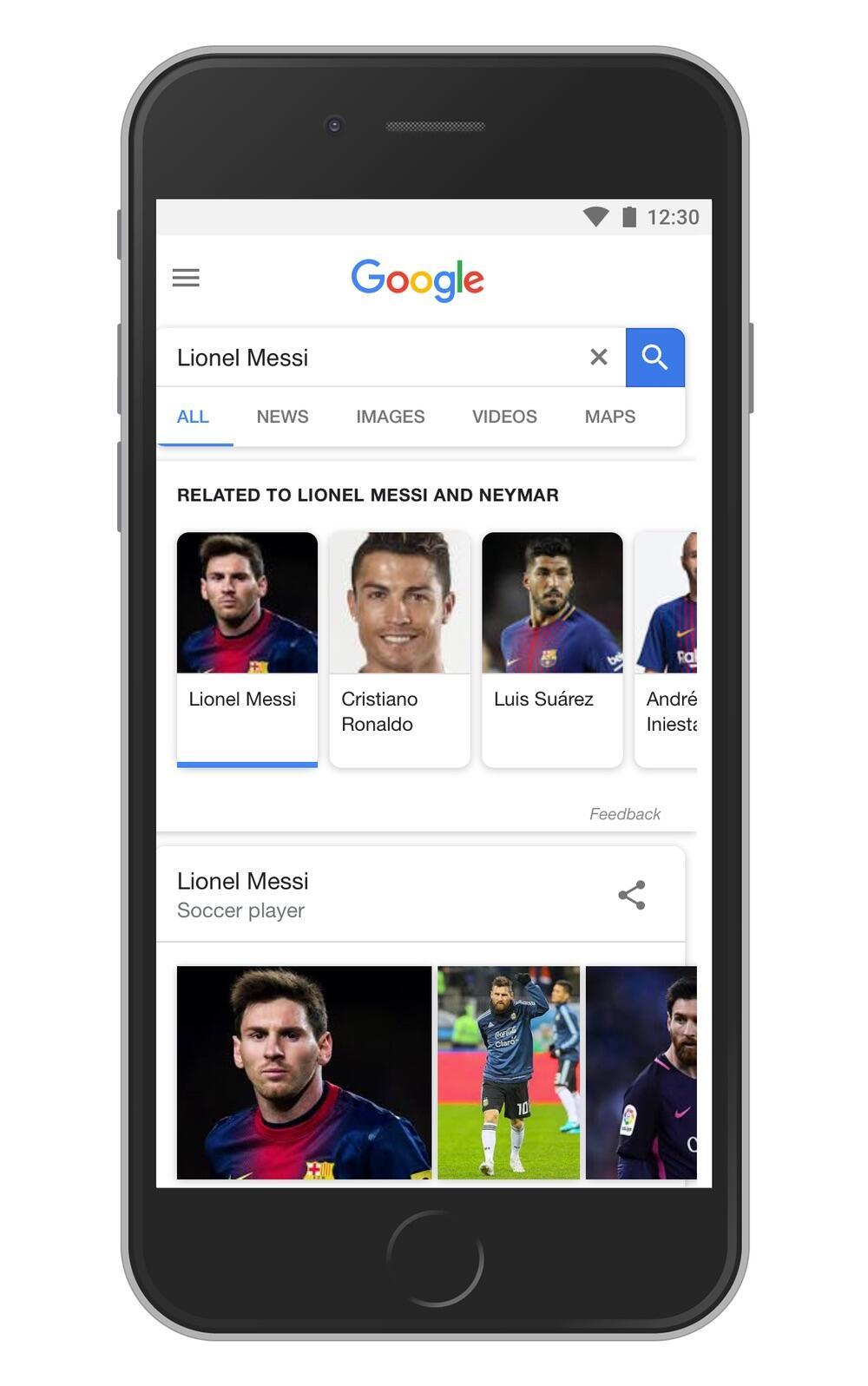 Google Suche Vorschlaege