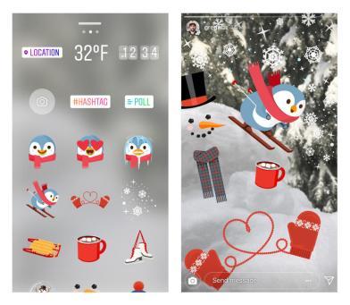Instagram Creative Tools Holidays 3