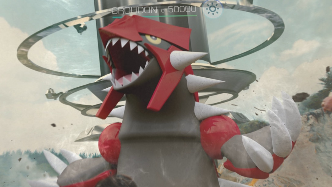 Pokemon Go Groudon