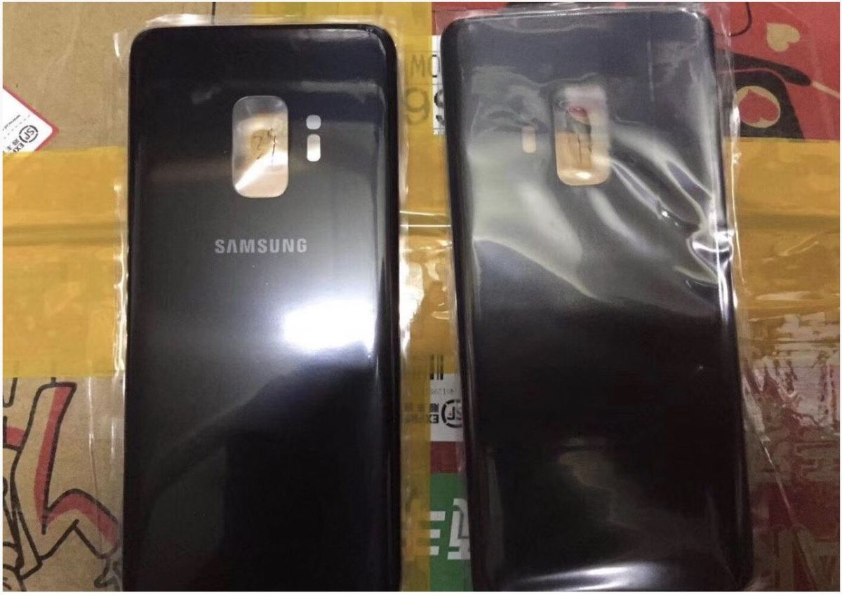 Samsung Galaxy S9 Back Leak