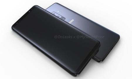 Samsung Galaxy S9 Plus Render