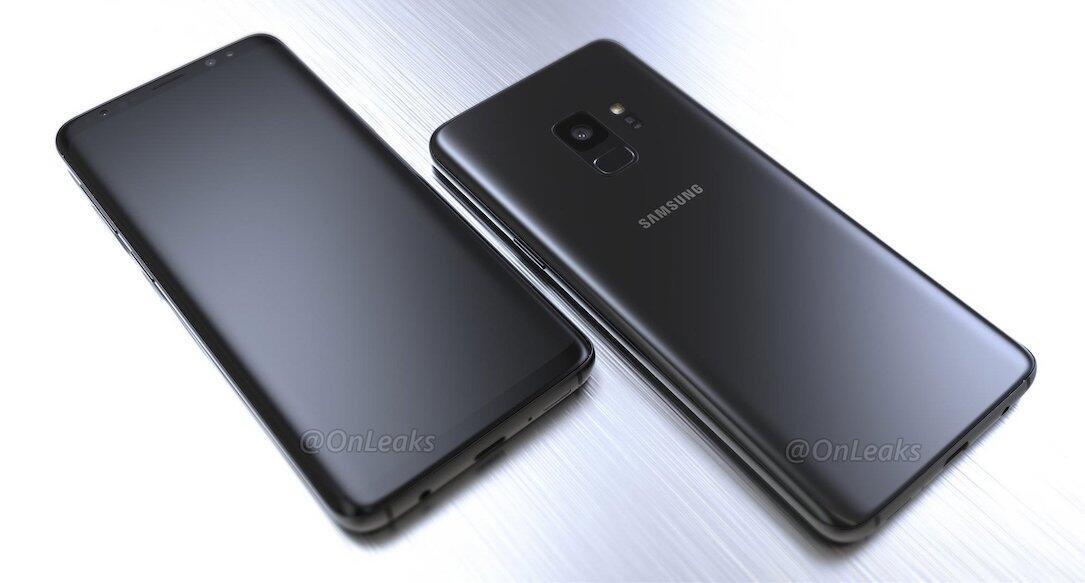 Samsung Galaxy S9 Render Onleaks2