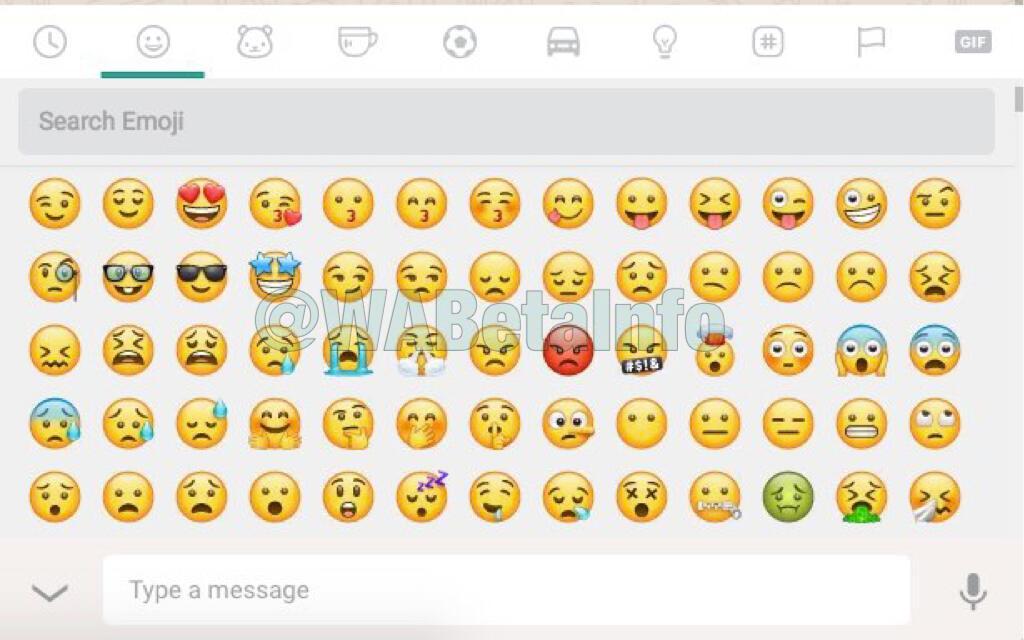 Whatsapp Web Emoji