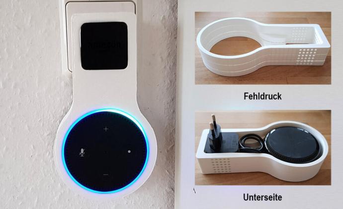 Amazon Echo Dot Halterung