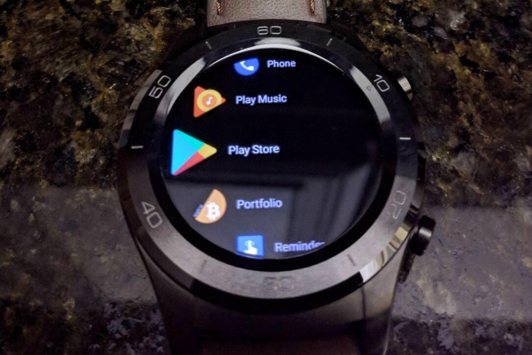 Android Wear 2.8 Dark Theme