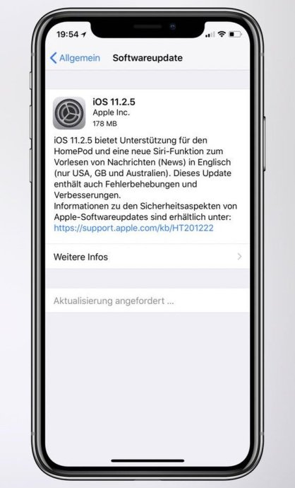 Apple Ios 11 2 5