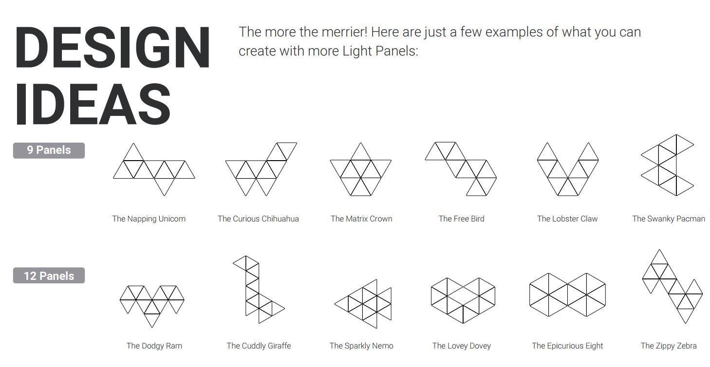 Nanoleaf Design Ideas