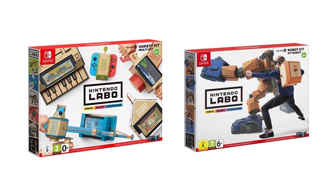 Nintendo Labo Verpackung