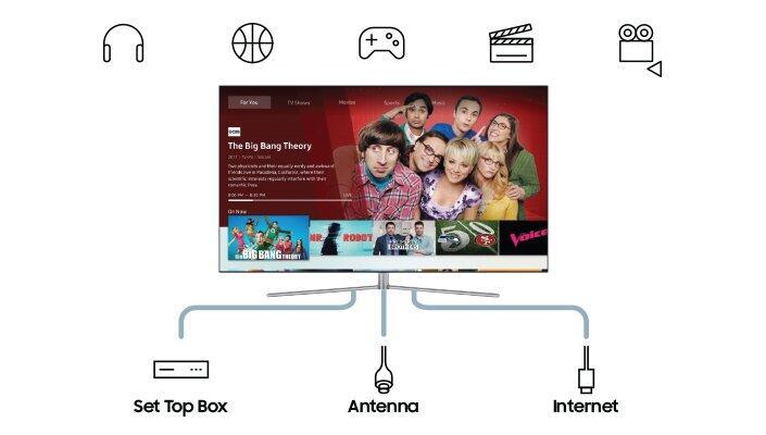 Samsung Smart Tv 2018 Vod Hub