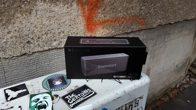 Tronsmart Mega (verpackung)