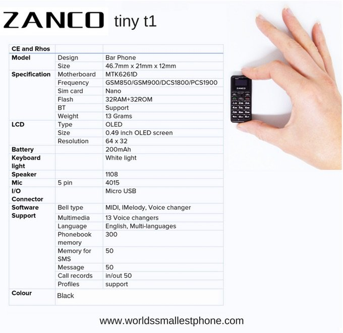 Zanco Tiny T1