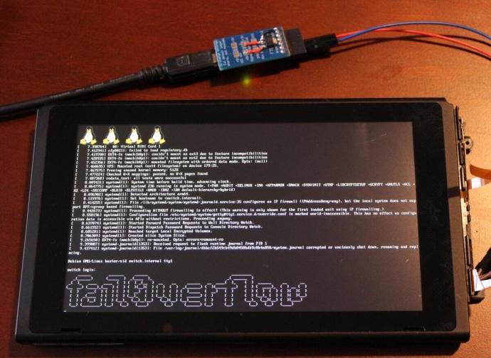 Fail0verflow Nintendo Switch Min