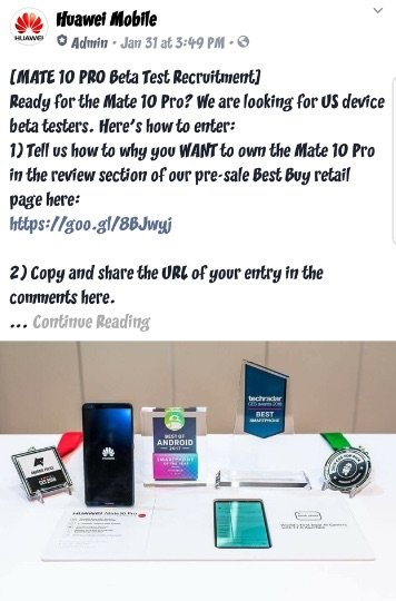 Mate 10 Pro Fake Reviews