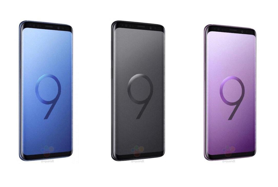 Samsung Galaxy S9 Plus Front Leak