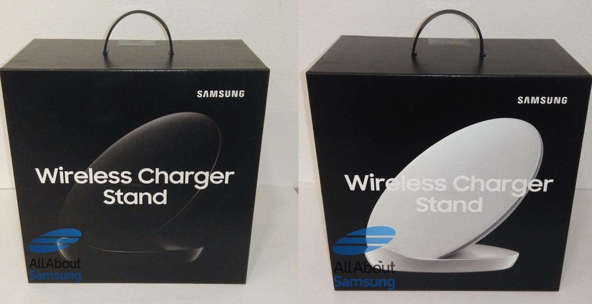 Samsung Wirless Charger Stand Verpackung