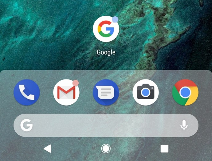 Android P Pixel Launcher