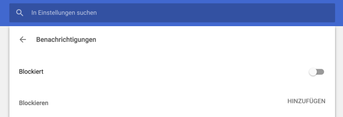 Benachrichtigungen Chrome Abschalten