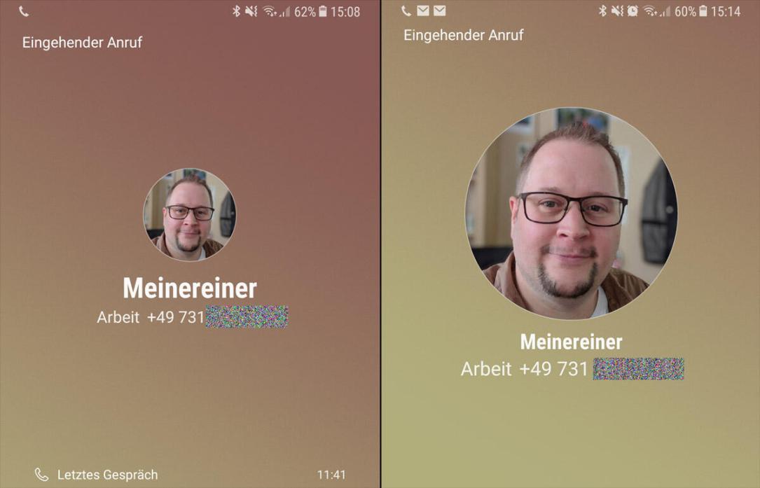Bigger Caller Id Note 8 Samsung Galaxy S8